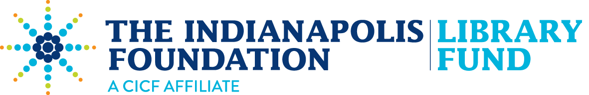 The Indianapolis Foundation Library Fund sponsor logo
